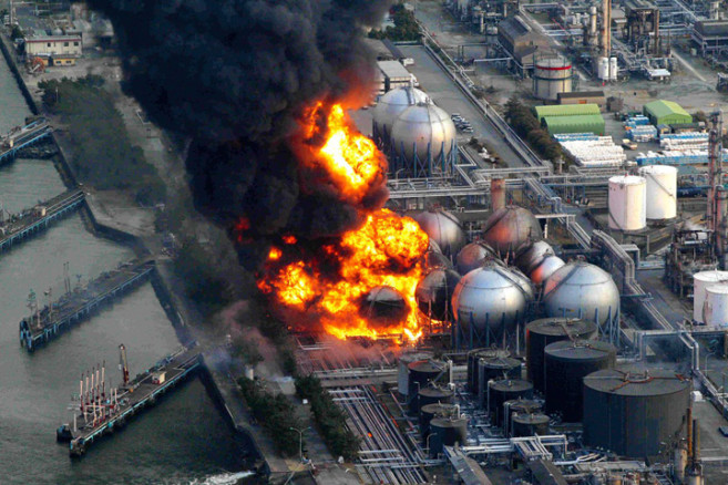 Explosion de la centrale nucléaire de Fukushima