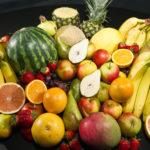 Fruits purée crue alimentation végétale saine